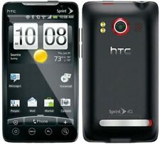 HTC Evo 4G 32GB Android Smartphone - Black - Locked to Sprint | Excellent (A)