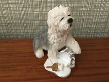 More details for old english sheepdog super figure with paint tin