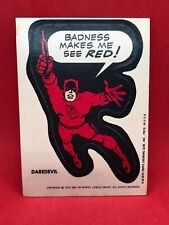 1974 1975 TOPPS MARVEL COMIC BOOK HEROES STICKERS • DAREDEVIL