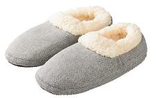 Intelex Warmies Slippies Hausschuhe mit Laufsohle Boots Comfort grau (37-41)