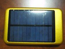 Solar 10000mAh Portable USB External Battery Charger Power Bank Cell Phone Gold