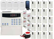 G10 99 Zones Wireless PSTN Voice Home Security Alarm Burglar System Auto Dialer
