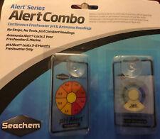 Seachem Alerts Combo Pack 2 Monitors Continuous Freshwater PH Ammonia readings