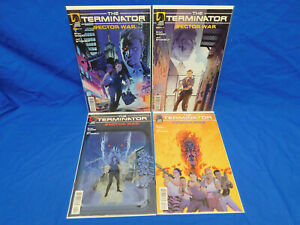 Dark Horse Terminator: Sector War # 1-4 COMPLETE SET 1 2 3 4