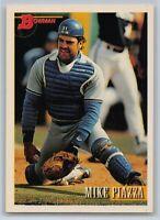 1993  MIKE PIAZZA - Bowman Baseball Card # 646 - LOS ANGELES DODGERS
