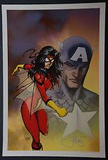 Spiderwoman Michael Turner Aspen Art Print