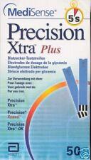 Precision Xtra Plus Blutzucker Teststreifen neu+OVP v. Fachhändler
