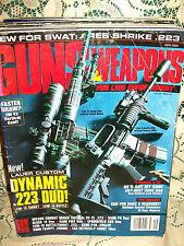 GUNS & WEAPONS 9/2004~LCE-15 BATTLE RIFLE~KAHR P9~GLOCK 19~COBB FA50~WILSON UT15