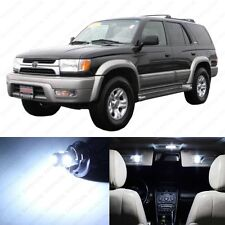 8 x Xenon White LED Interior Lights Package For 2001 - 2002 Toyota 4Runner