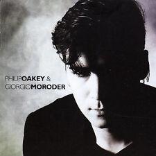 PHILIP OAKEY & GIORGIO MORODER Self Titled CD bonus tracks remixes 2003 Virgin
