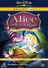 Alice In Wonderland (DVD, 2005) region 4 (Disney Classics special edition)