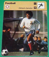 FOOTBALL GERARD JANVION 1978 FRANCE AS SAINT-ETIENNE ASSE VERTS