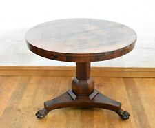 Antique Victorian Rosewood tip up top breakfasting table - centre table