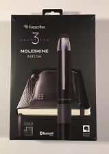 Livescribe 3 Smartpen Moleskine Edition APX-00019 Used Only A Few Times