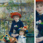 """30W""""x38H"""" TWO SISTERS ON THE TERRACE by PIERRE AUGUST RENOIR - CHOICES of CANVAS"""