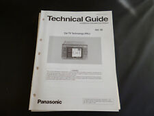 Original Service Manual Panasonic TECHNICAL GUIDE  Car TV Technology ( PAL) Vol.