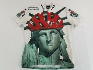 NEW YORK CYCLE CLUB JERSEY Vintage Louis Garneau Woman SM