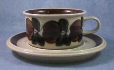 ARABIA OF FINLAND, Vintage, Ruija, Tea Cup & Saucer Excellent Condition