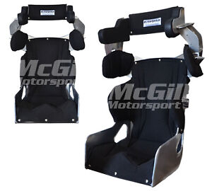 """Ultra Shield Adult Full Containment Race Seat + Black Cover Size 16"""" Ultrashield"""
