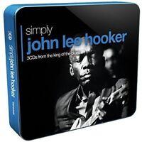 JOHN LEE HOOKER - SIMPLY JOHN LEE HOOKER (3CD TIN) 3 CD NEW!