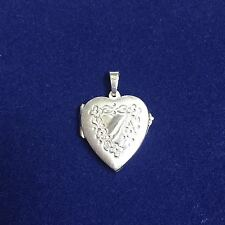 NEW Sterling Silver Heart Locket Suitable For Two photos Free Domestic Shipping