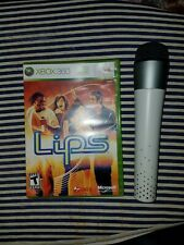 Lips x Box 360 game with Wireless Microphone free shipping