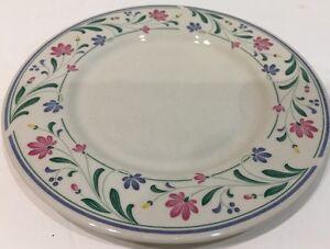 Farberware Berrywine Stoneware 4 Bread & Butter Plates Oven To Table 4324