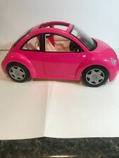 Barbie Bug Pink Car Vehicle  Mattel