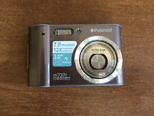 "Polaroid M737T 7.0MP Digital Camera -3.0"" T/Screen TFT Sold AS IS"