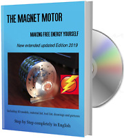 Magnet Motor Making Free Energy Yourself Hardcover Book + DVD | NEW 2019 English