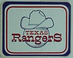 TEXAS RANGERS 1970s STICKER