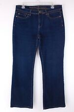 """SIMPLY VERA WANG BOOT CUT JEANS TRIANGLE POCKETS 34"""" x 31"""" SIZE 10"""