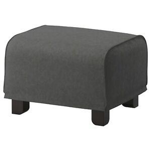 Ikea cover set for Gronlid Footstool in Tallmyra Medium Grey