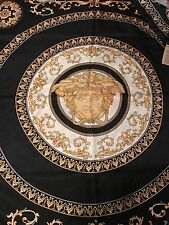 """VERSACE SCARF MEDUSA SILK ITALY LUXURY AUTHENTIC 36"""" inch large NEW  $350 SALE"""