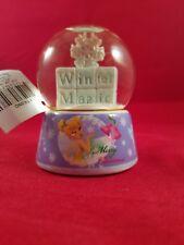 Disney Tinkerbell Winter Magic Mini Snowglobe Merry Christmas Snowflakes Ruz NEW
