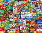 Springbok's 500 Piece Jigsaw Puzzle Looney Labels