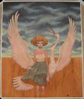 Audrey Kawasaki She's With Me Giclee Print Signed Numbered Poster /250 Rare Bird