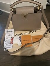 100% Auth Louis Vuitton Capucines BB Handbag With Receipt