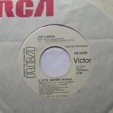 JOE DASSIN L'ete indien (Africa) VG++ CANADA PROMO RCA MEGA RARE 1975 FRENCH 45