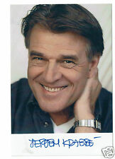 Jeroen Krabbé Actor  Hand Signed  Photograph 6 x 4