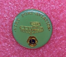Pins LIONS CLUB VITRY PORT AVIATION Avion Plane