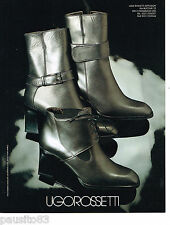 PUBLICITE ADVERTISING 065  1995  UGO ROSSETTI collection bottes boots