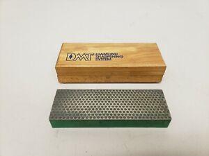 DMT Diamond Sharpening System Stone Green Wooden Storage Box READ