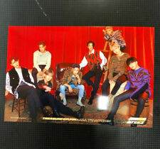 "Brand New ATEEZ Unofficial 4""x6"" Treasure Ep. Fin Red Group Photo"