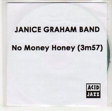 (ER51) Janice Graham Band, No Money Honey - 2012 DJ CD