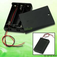 New 3 AA 2A Battery Holder Box Case With Switch EE4068 5151948