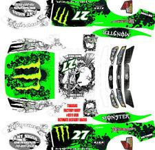 TRAXXAS UDR ULTIMATE DESERT RACER TROPHY TRUCK BJME1 Theme  wrap decals stickers