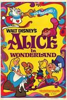 "ALICE IN WONDERLAND Movie Poster [Licensed-NEW-USA] 27x40"" Theater Size DISNEY"