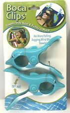 Boca Clips Dolphin Beach/Pool Chair Towel Holders