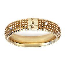 DAMIANI METROPOLITAN DREAM anello matrimonio oro giallo 20031982 DIAMANTI NUOVO